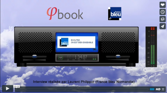 [ON AIR] Phibook le premier album vidéo & photo sur France Bleu Normandie !