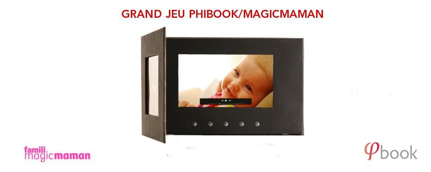 Les résultats du concours Phibook/Magicmaman
