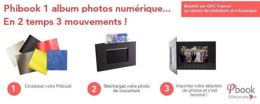 Bientôt Phibook sera disponible sur QVC France !