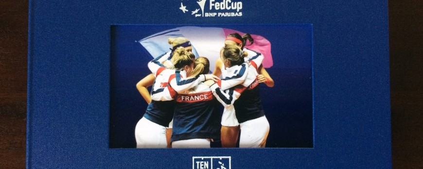 Découvrez le Phibook personnalisé offert par la Fédération Française de Tennis à...
