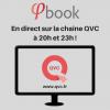 Ce soir Phibook en direct à 20h00 et à 23h00 sur la chaîne QVC !