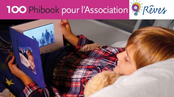 Redonnez le sourire aux enfants malades de l'Association Rêves en participant à notre projet !
